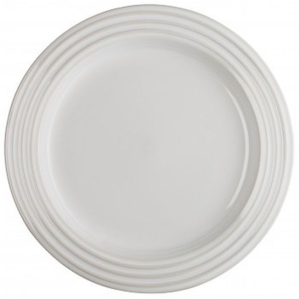 "8.5"" Salad Plate White"