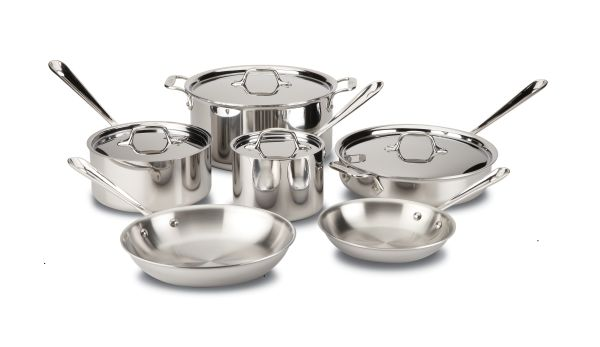 10pc D3 Stainless All Clad Set