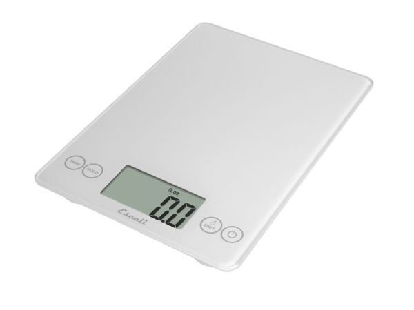 Arti Glass Digital Scale White