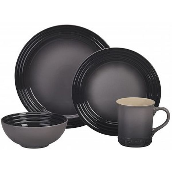 16pc Dinnerware Set Oyster