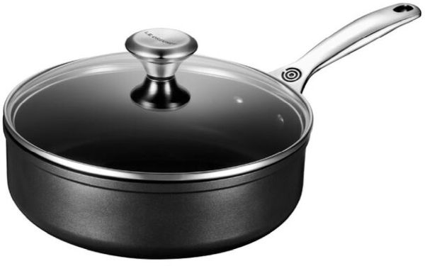 3.5qt T N P Saute Pan W/Glass Lid