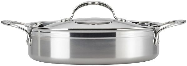 3.5qt Pro Bond Covered Sauteuse