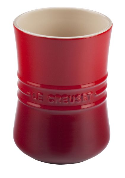 1qt Utensil Crock Cherry