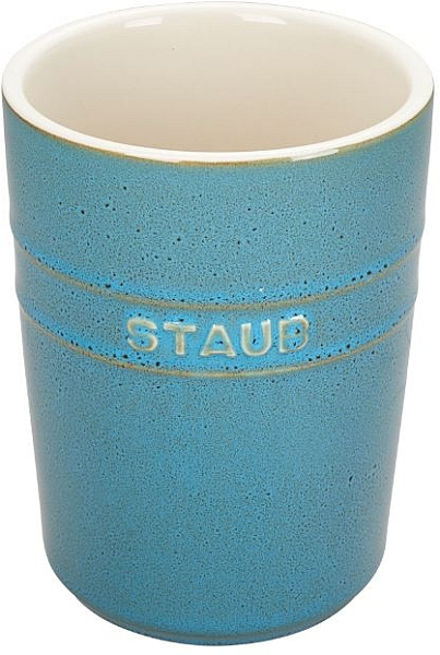 1qt Utensil Holder Turquoise