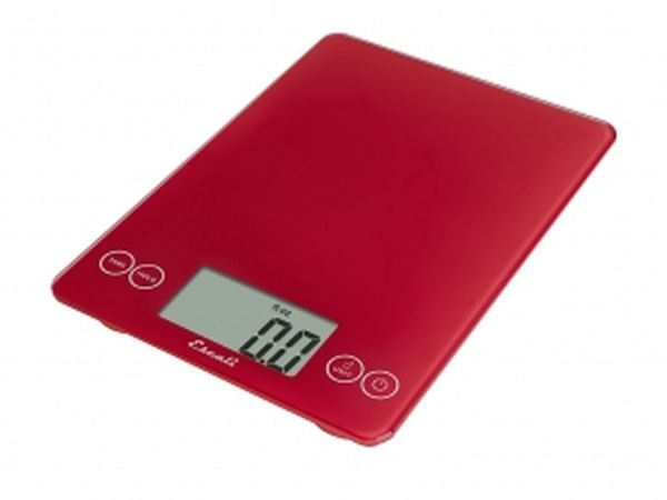 Arti Glass Digital Scale Red
