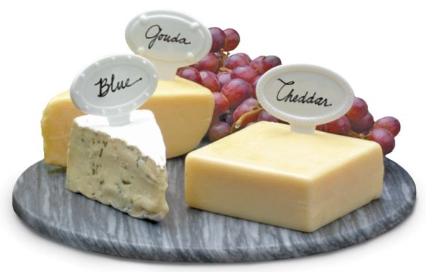 Porcelain Cheese Labels