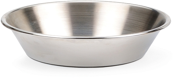 "6"" Stainless Pie Pan"
