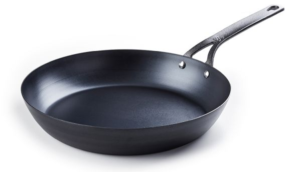 "10"" Black Steel Frypan"