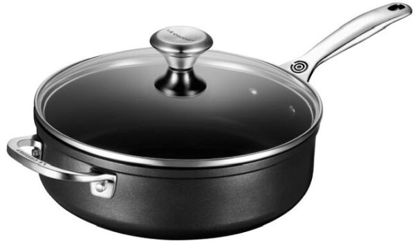 4.25qt T N P Saute Pan W/Glass Lid