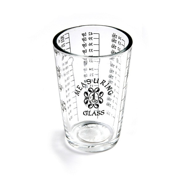 Glass 1 Cup Measure