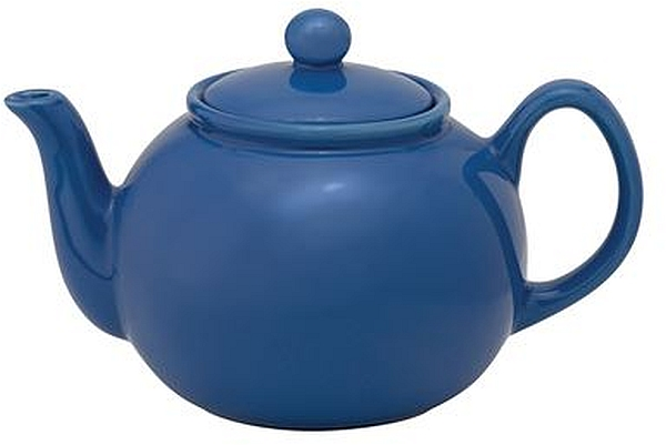 32oz Blue Teapot W/Infuser