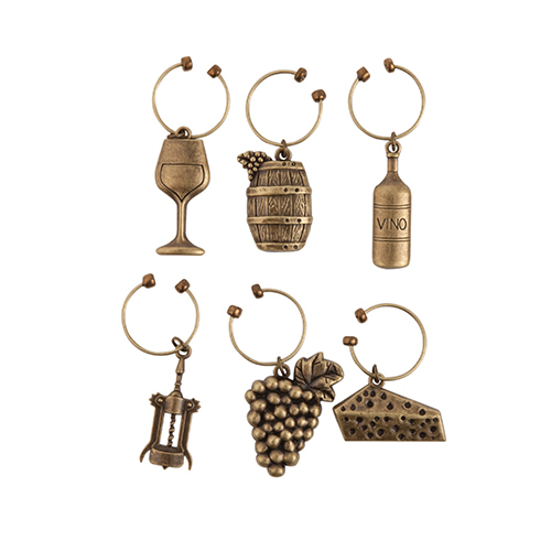 Grapevine Vineyard Charms