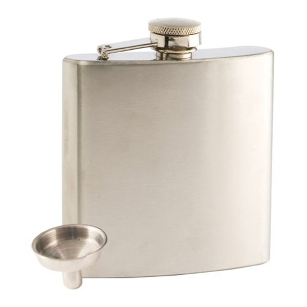6oz True Stainless Flask